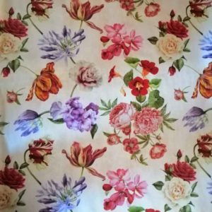 Muster romantische Blumen