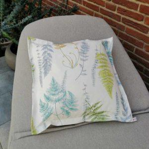 Outdoor Kissenbezug Farne – Beschichtete Baumwolle 40x40cm
