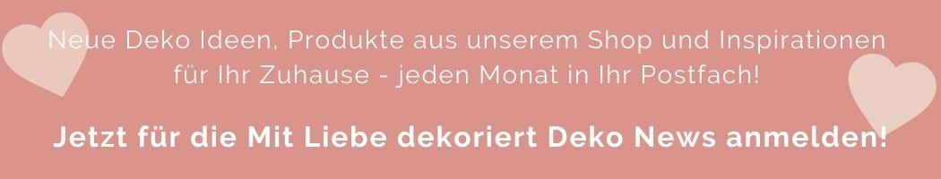 Mit Liebe dekoriert Deko News