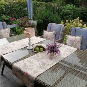 Tischläufer Lavendel beschichtet