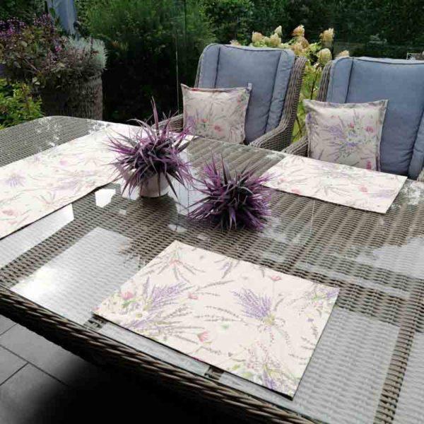 Tischsets Lavendel beschichtet 30x40cm