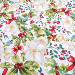 Decke für den Weihnachtsbaum - Christrose