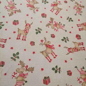 Weihnachtsbaumdecke Rudolf (beschichtet)