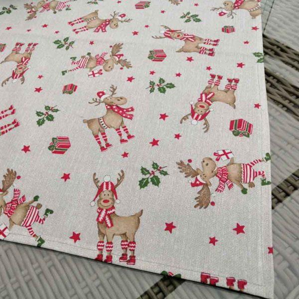 Tischdecke Rudolf aus beschichtet