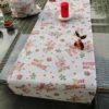 Tischdecke Rudolf mit Socken