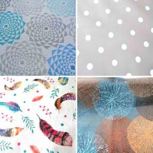 Wachstuch Mitteldecke Ornamente & Muster
