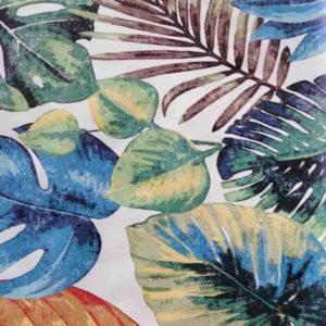 Wachstuch Mitteldecke Blätter