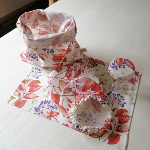 Schüsselhauben Beschichtete Baumwolle Blumen - Holunder