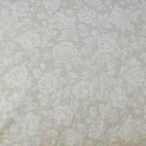 Platzset beschichtete Baumwolle (Beige mit Röschen)