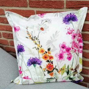 Kissen Blumenwiese für Outdoorbereich 60x60cm