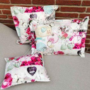 Kissen für die Terrasse mit Rosen Nostalgie mit Rosen