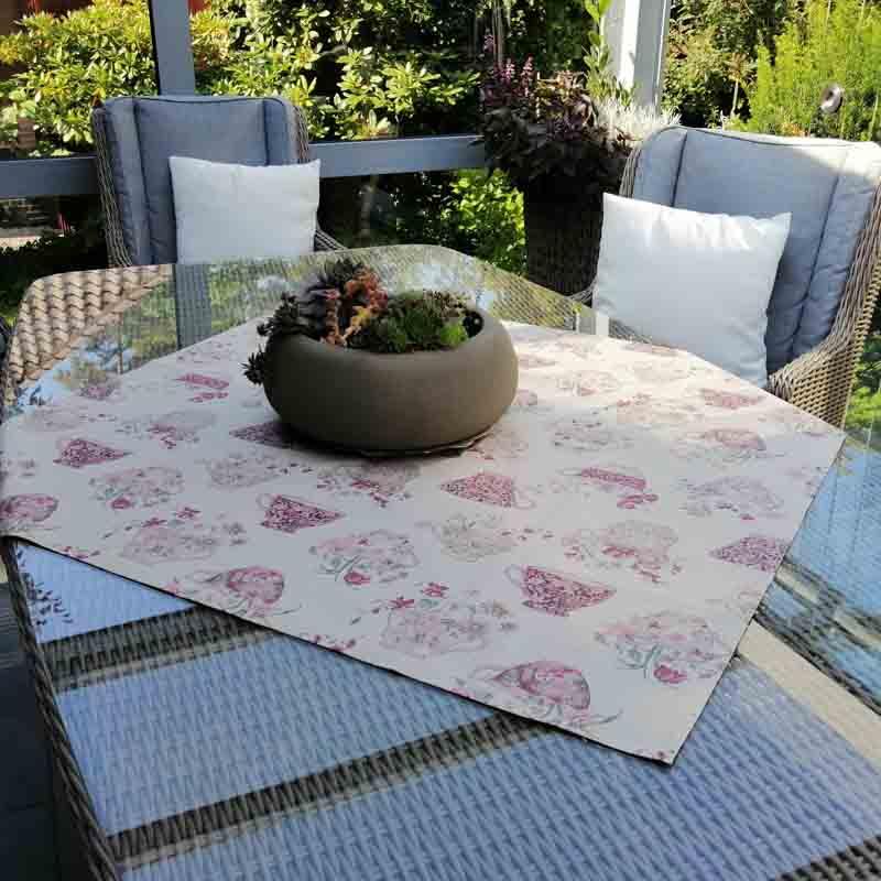 Beschichtete Baumwolle Tischdecke für den Garten und Balkon